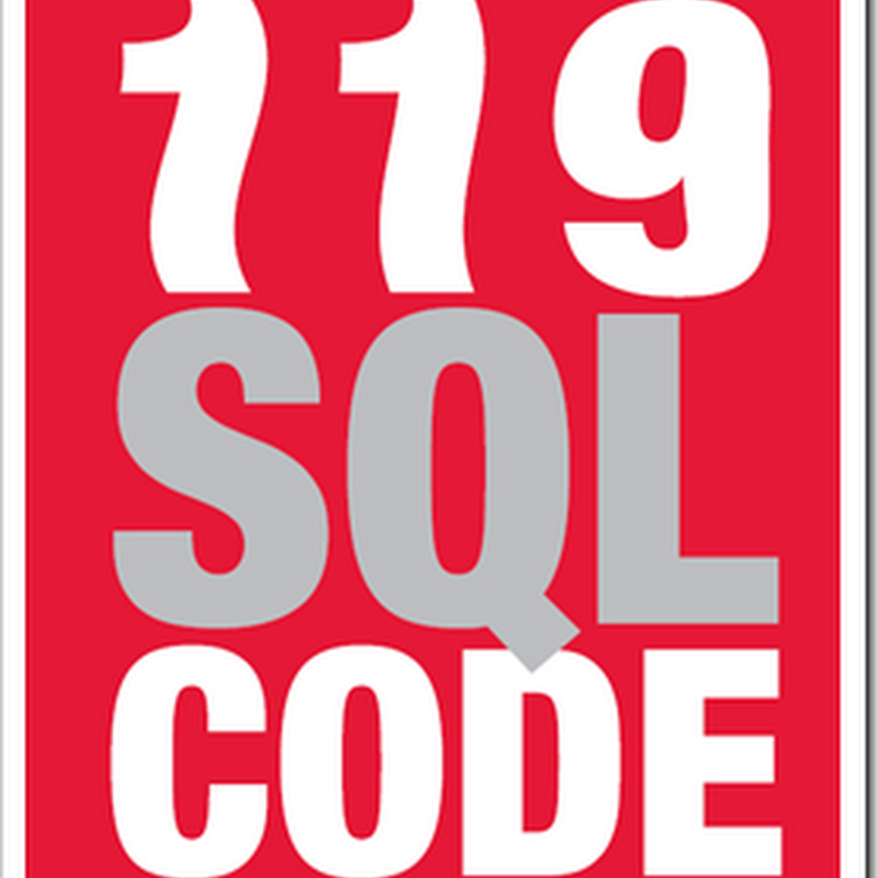 "Does your SQL Smell? The free ""119 SQL Code Smells"" eBook might help you sniff it out (and fix it)"