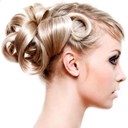 Hairstyles on Prom Hairstyles Curly Updos