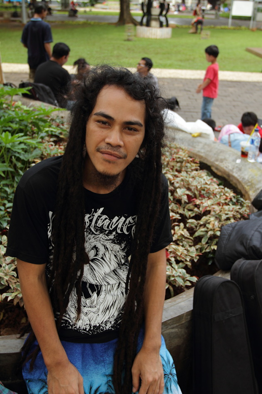 Street Musician from Jakarta, Indonesia