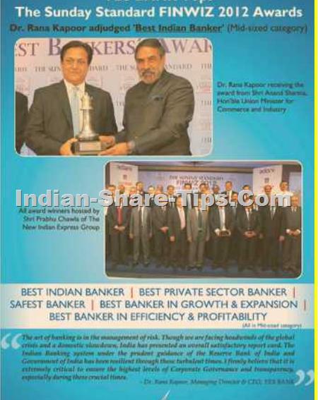 best banker award