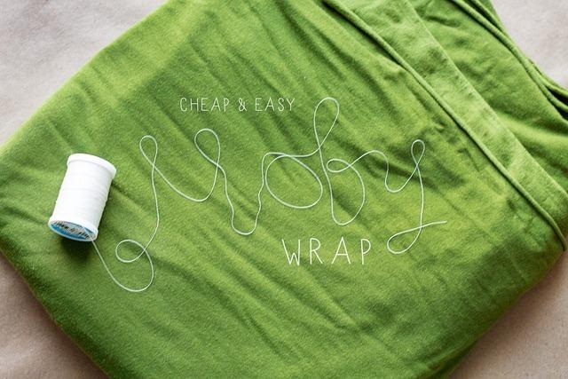 DIY moby wrap