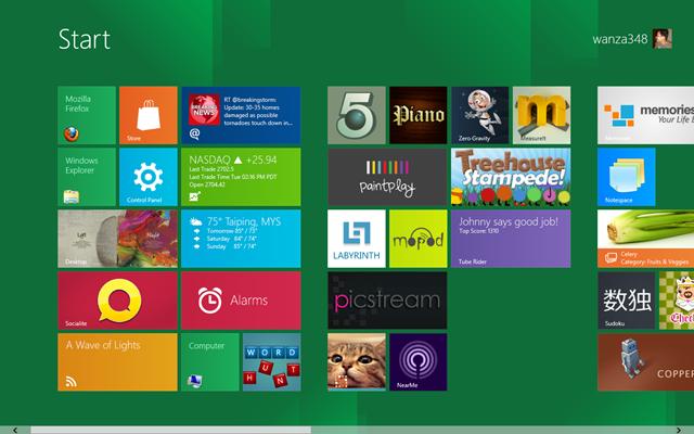 Ulasan Windows 8 Developer Preview