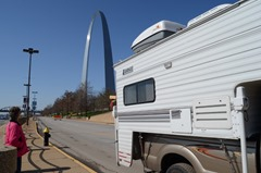 Boomers On The Move...Enjoying the Arch!