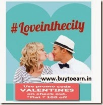 Groupon: Buy Valentine Deals upto 60% off + Rs. 100 off on Rs. 499 + 5% off