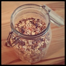 Day #17 - Dorset Cereal in a glass jar
