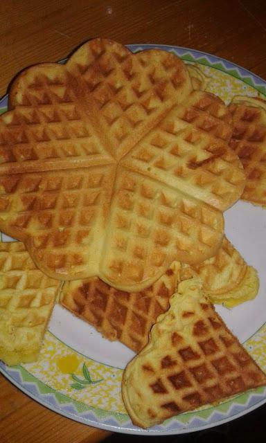 waffel senza glutine