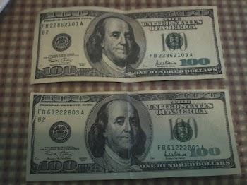 Fake $100 Bills
