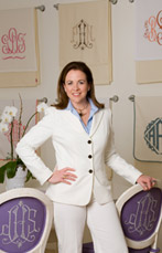Jane Scott Hodges founded Leontine Linens in 1996.