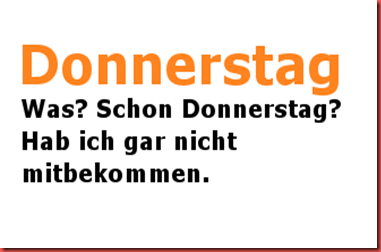 donnerstag - copia