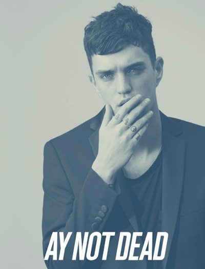 Josh Beech @ DNA by Sebastian Faena for AY Not Dead S/S 2012 campaign