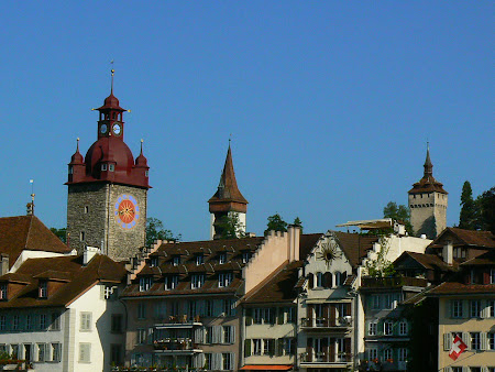 Sights of Lucerne: The historical towers