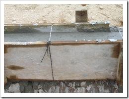 Building cadena under walls 009
