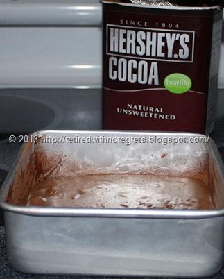 PB Brownie - Quinoa Flour