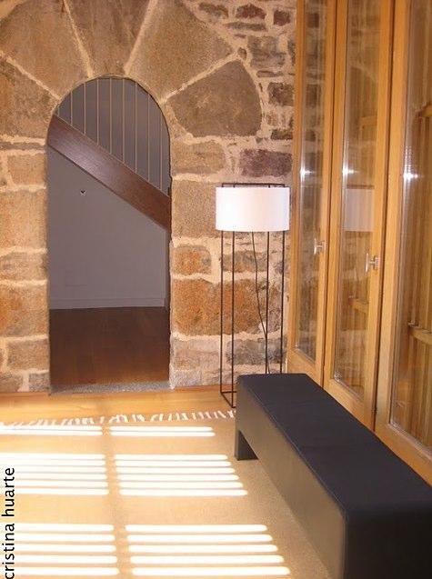 Interiores Hotel Torre de Uriz por Cristina