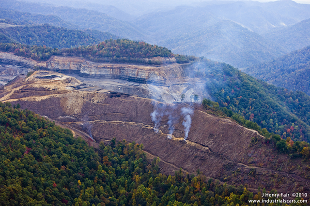 a critique on the act of mountaintop removal in west virginia