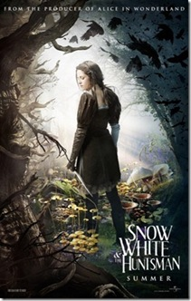 snow white huntsman poster 1