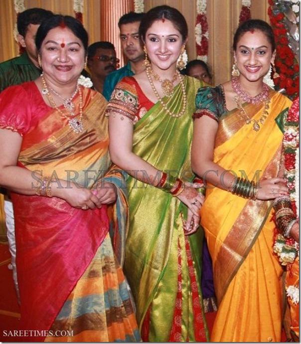 Majula, Preetha, Sridevi at Sneha & Prasanna Wedding Photos