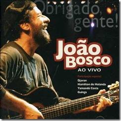 Album Obrigado Gente - Joao Bosco - 2006