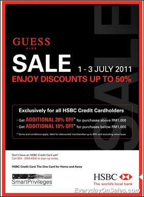 hsbc-guess-kids-sale-2011-EverydayOnSales-Warehouse-Sale-Promotion-Deal-Discount