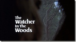 The Watcher in the Woods Title