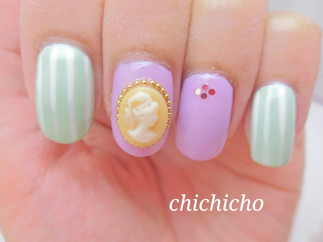 3D Nail Art Decal | chichicho~ nail art addicts