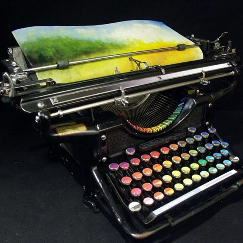 Chromatic Typewriter: A Typewriter That Paints