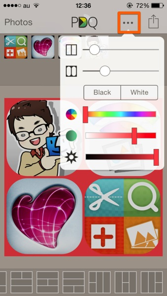 Iphone app photography diptic pdq3