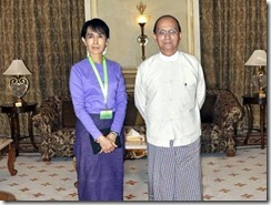 Aung San Suu Kyi Thein Sein