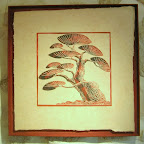 Le pin de Chavailles Imprimé sur papier Himalaya Tout encadré sans verre 300€