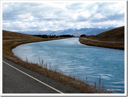 Hydro Electricity canal from Lake Tekapo.