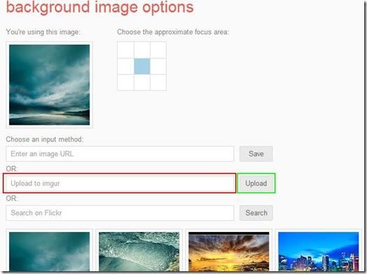Usare una foto dal PC come sfondo di Google su Chrome
