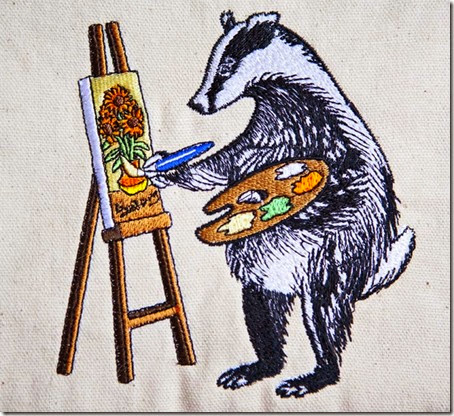Badger Painting08