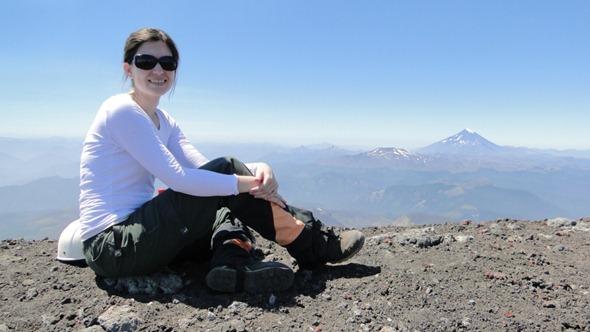 No topo do Vulcão Villarrica
