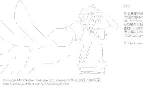 [AA]富樫勇太「貴様にふさわしいコードを生成した」 (中二病でも恋がしたい!)