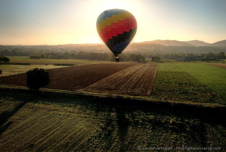 Ballooning in Costa Brava - copyright Laurence Norah