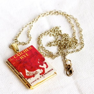The Catcher in the Rye Book Locket by Junk Studio