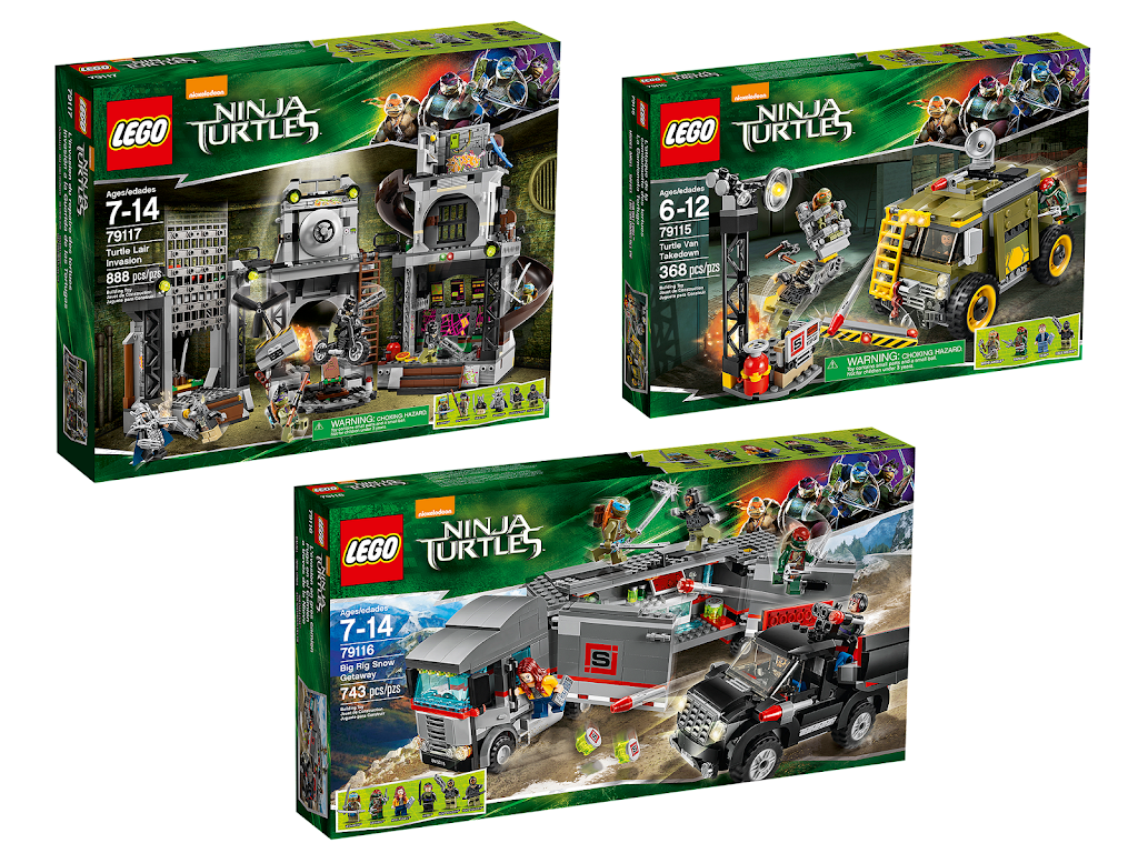 Lego Teenage Ninja Turtles Toys : Bricker construction toy by lego teenage mutant