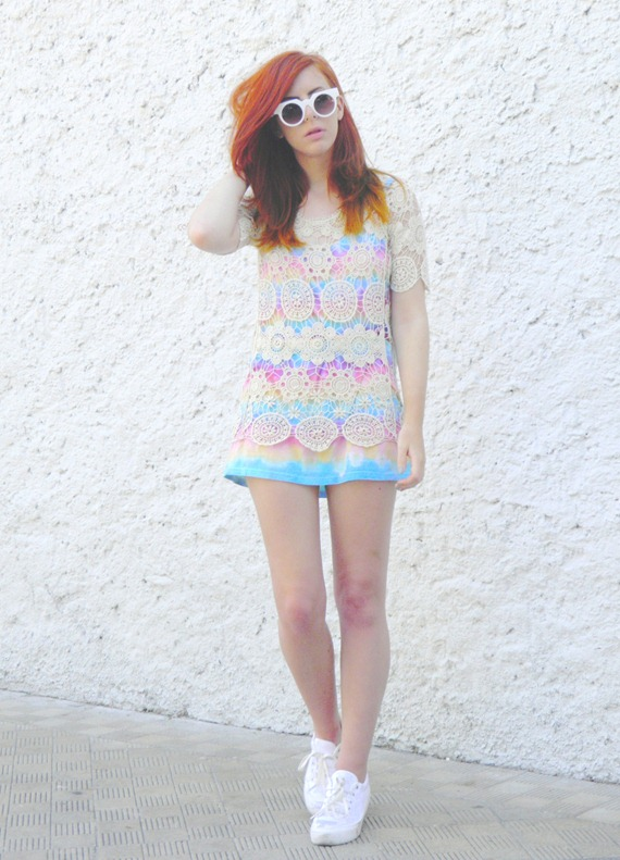 TIE DYE DRESS