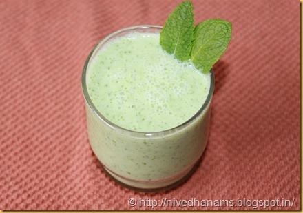 Cucumber Mint Shake - IMG_3216