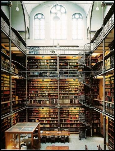 Bibliothèque Rijksmuseum, Amsterdam -1