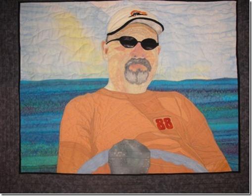 Mark quilt