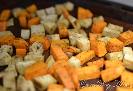 Roasted Sweet Potatoes 2