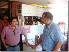 With Prag Inamdar, the owner