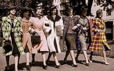 Fashion In 1940s' Style