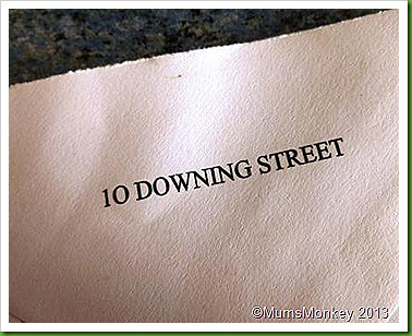 10 Downing Street writing paper