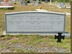 Jackson Memorial Stone