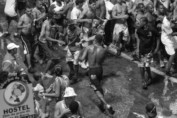 briga no carnaval