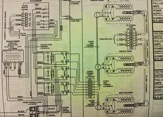 kiln wiring diagram glazedOver pottery