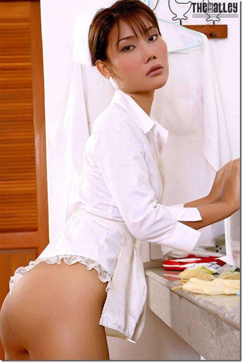 Enfermeira Japonesa Pelada