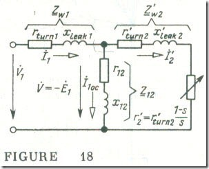 The Equivalent Circuit for a Phase of an Induction Motor 4
